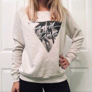 "American Eagle ""Good Times"" Crewneck Sweatshirt"